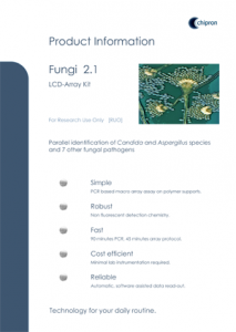 Brochure DNA Array Fungal Pathogens