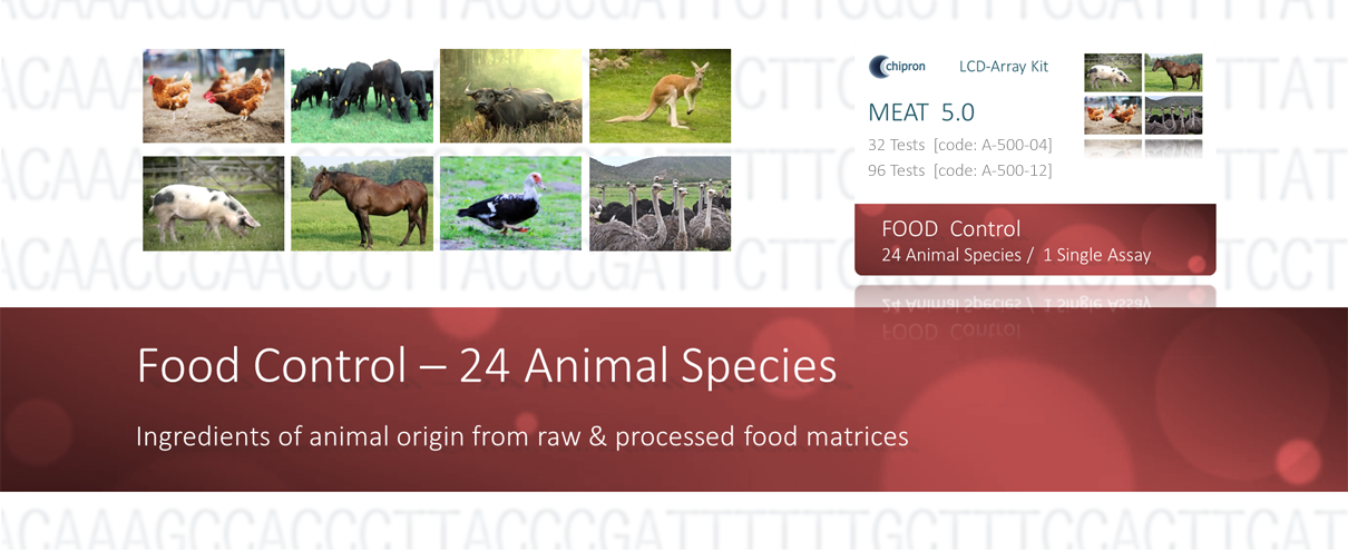 LCD-Array products for animal species identification